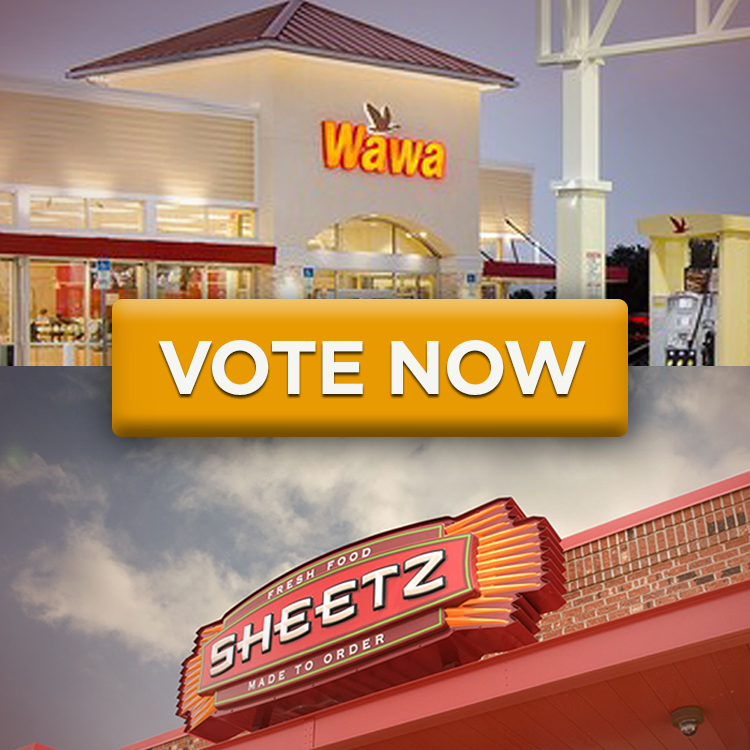 Vote Now for Team Sheetz or Team Wawa